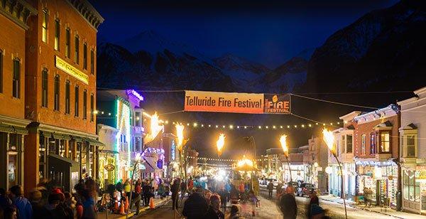 Telluride Fire Festival Dec. 7-9